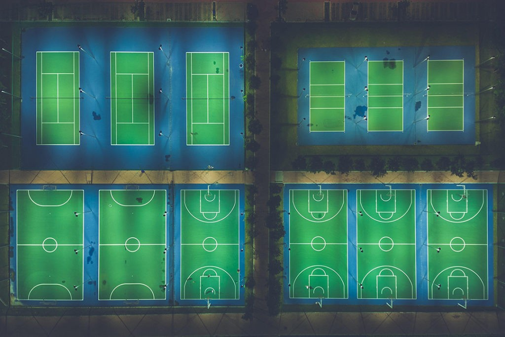 manage sports facilities