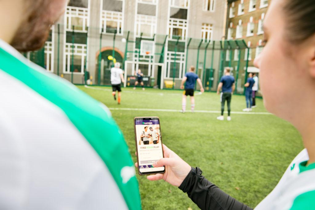 Playfinder App in uSE