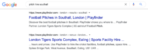 Southall search terms